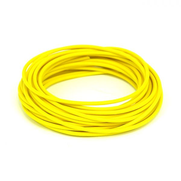7,5 M. YELLOW CLASSIC CLOTH COVERED WIRING,