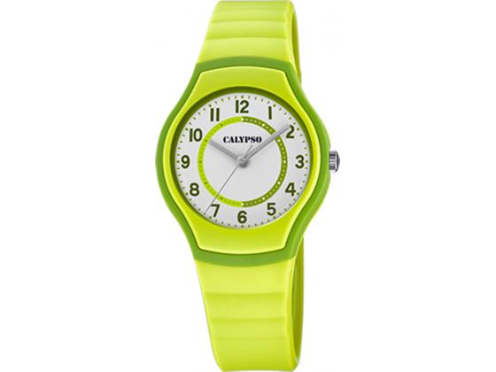 Calypso barneur 5 atm, grønn