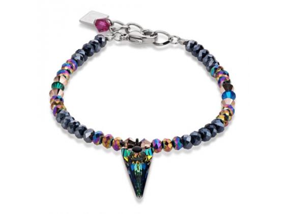 Multi Crystal Arrow Point Bracelet