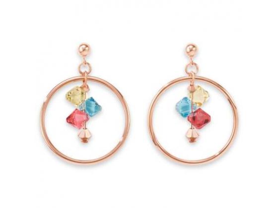 Multicolor Pastel Earrings