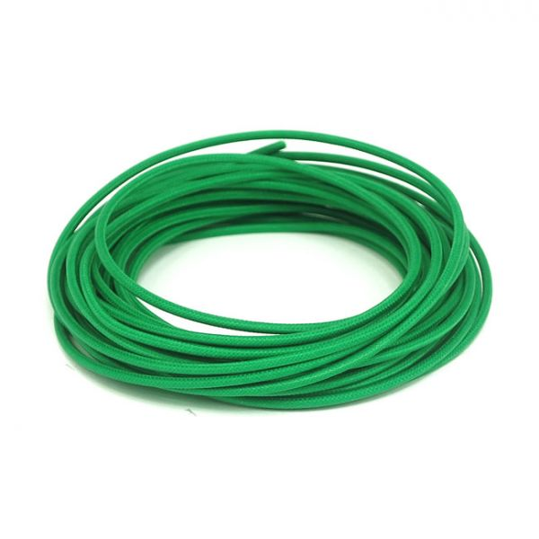 7,5 M. GREEN. CLASSIC CLOTH COVERED WIRING,
