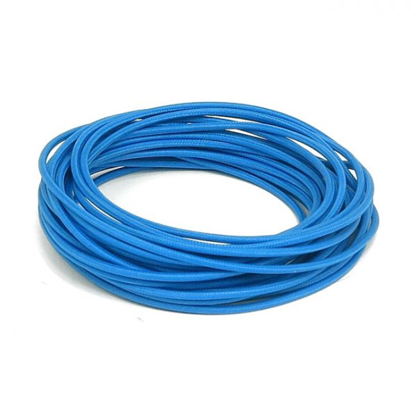 9,5 M. BLUE. CLASSIC CLOTH COVERED WIRING,