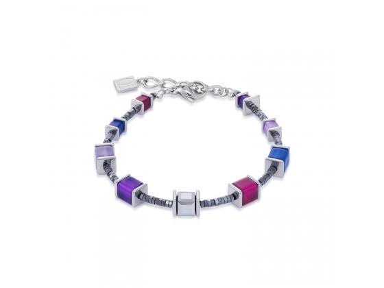 GEOCUBE Multicolor Blue/Purple Bracelet