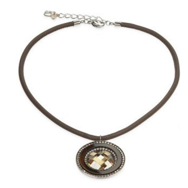 Golden Brown Necklace