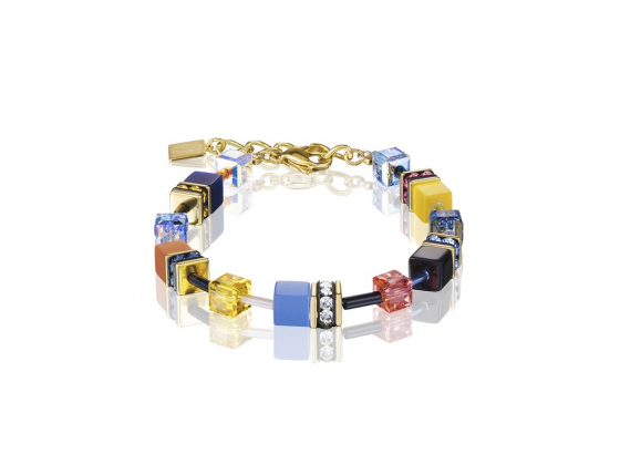 GEOCUBE Multicolour Blue/Yellow Bracelet