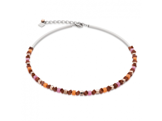 Mini Orange/Pink Necklace