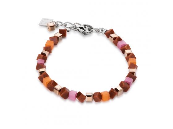 Mini Orange/Pink Bracelet