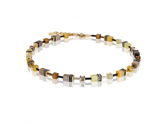 GEOCUBE Yellow Gold Necklace