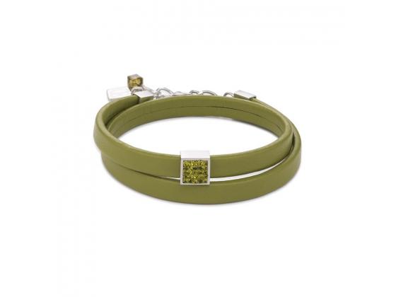 Leather Glitter Bracelet