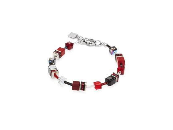 GEOCUBE Dark Red/Black Bracelet
