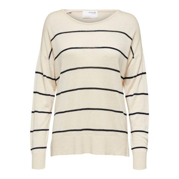 Malene Knit Wide Stripe