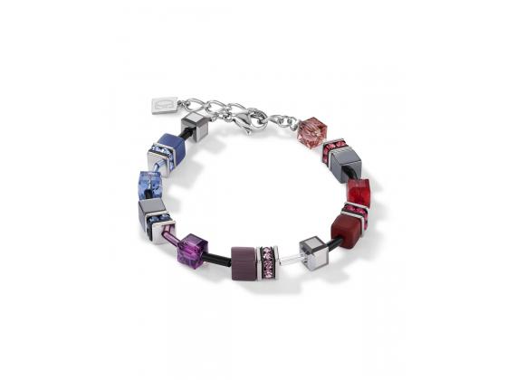 GEOCUBE Multicolor Red/Blue Bracelet