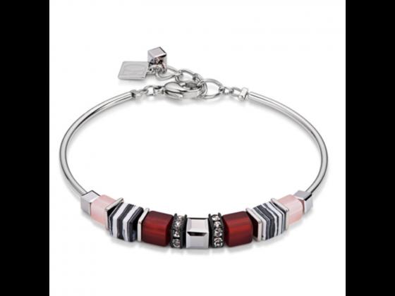 GEOCUBE Red Zebra Bracelet