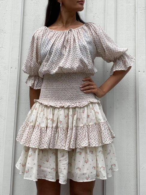 Bohemian Smocking Dress - Day Combo