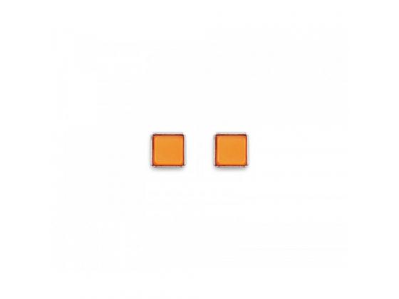 Orange Stud-Earrings