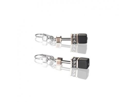 GEOCUBE Golden Onyx Earrings