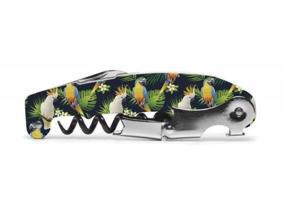 Vinåpner papegøye