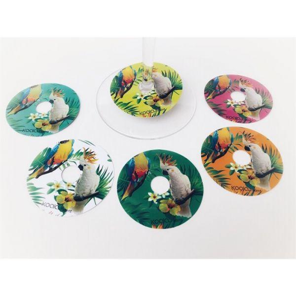 Glassmarkør papegøye