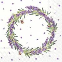 """Lavender Wreath"""