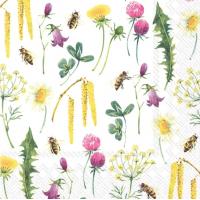 """""""Bee Grateful"""" lunsjserviett"""