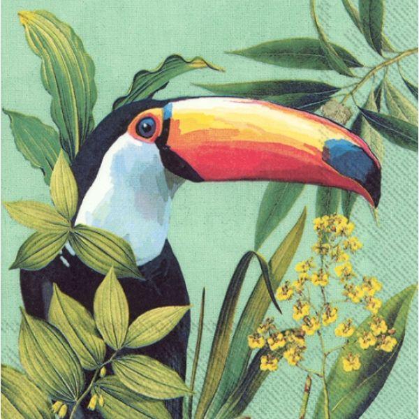 """Toucan in Paradise"" lunsjserviett"