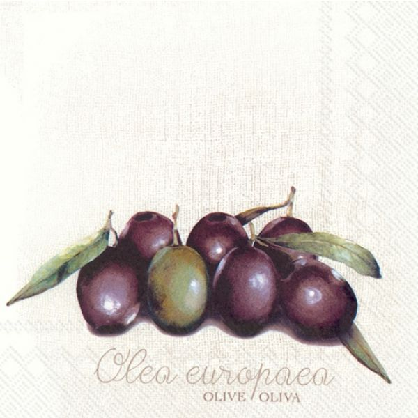 """""""Olea Europea"""" lunsjserviett"""