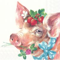 """""""Piggy"""" lunsjserviett"""