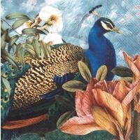 """Paradise Peacock"" lunsjserviett"