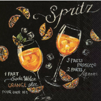 """""""Spritz"""" Cocktailserviett"""
