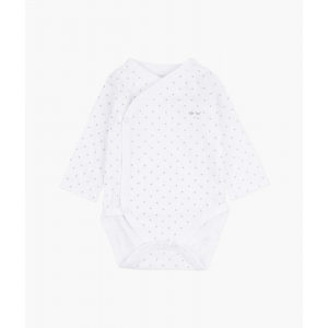 LIVLY - SATURDAY CROSSED BODY WHITE/SILVER DOTS
