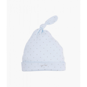 LIVLY - SATURDAY TOSSIE HAT BLUE/SILVER DOTS