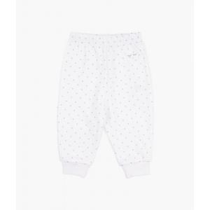 LIVLY - SATURDAY PANTS WHITE/SILVER DOTS