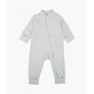 LIVLY - SATURDAY OVERALL GREY/WHITE DOTS