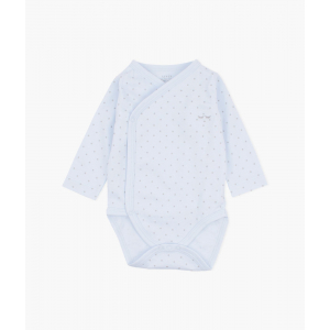 LIVLY - SATURDAY CROSSED BODY BLUE/SILVER DOTS