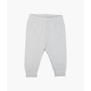 LIVLY - SATURDAY PANTS GREY/WHITE DOTS