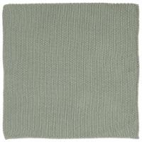 Klut strikket støvgrønn