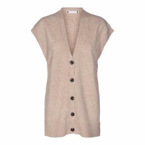 Rowie Long Button Vest