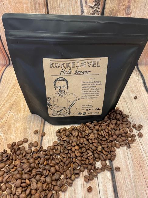 Kokkejævelkaffe HELE BØNNER