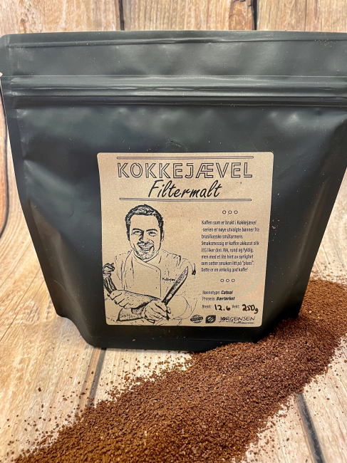 Kokkejævelkaffe FILTERMALT
