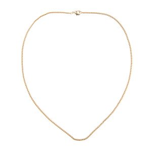 TWISTED GOLD NECKLACE 60CM