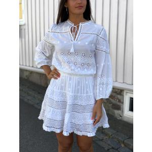 Delilah Dress - White