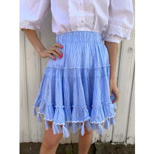 Becca Skirt - Blue Stripe