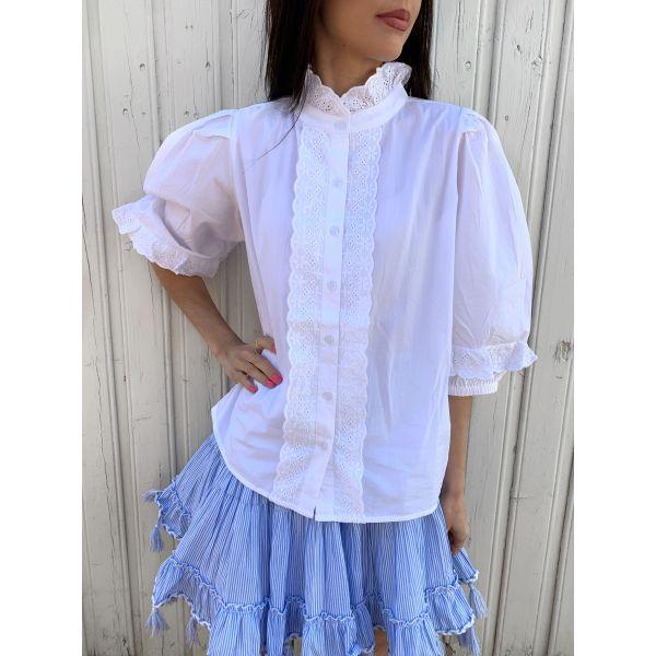 Nathalie Shirt Pure White