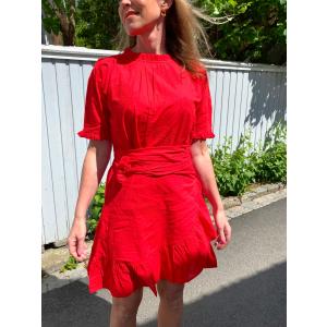 Poppy Dress True Red