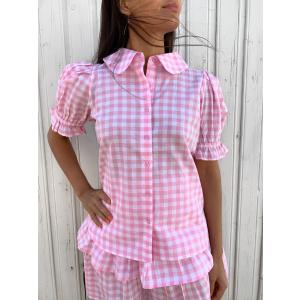 Dina Shirt Pink Gingham
