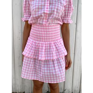 Vera Skirt Pink Gingham
