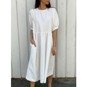 Leah Dress - White