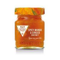 Spicy mango & ginger chutney