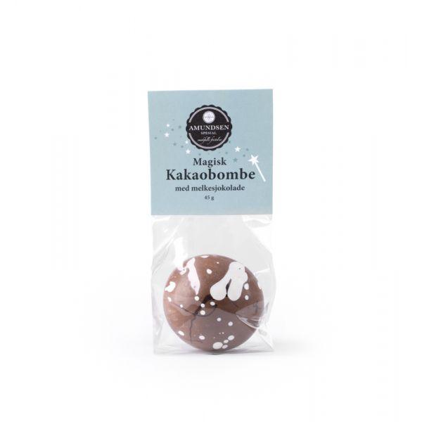 Kakaobombe Melkesjokolade m/ minimarshmallows