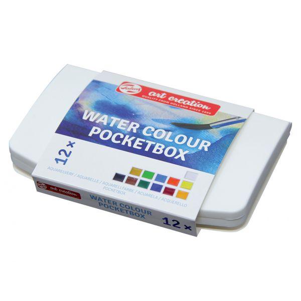 Art Creation Water Colour Pocketbox 12 pans